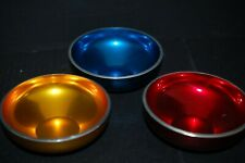3 Olden Norway Mcm Anodized Aluminum Bowls - Mint!