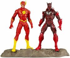 "McFarlane Toys DC Multiverse Earth -52 Batman (Red Death) and The Flash 7""..."