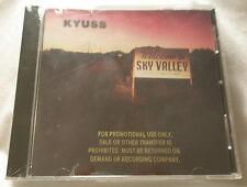 KYUSS Sky Valley Gold Stamp Promo CD sealed MINT condition QOTSA FU MANCHU
