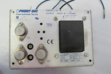 POWER-ONE HN24-3.6-A OUTPUT 24VDC AT 3.6AMPS POWER SUPPLY