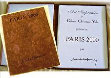 C'est le CADEAU!  PARIS 2000  coffret  20 Lithos  Originales  de MICHEL-HENRY.