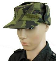 GENUINE CZECH ARMY FIELD HAT / CAP in M95 CAMO