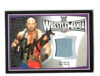 WWE Ryback 2015 Topps Signed WrestleMania 31 Event Used Mat Relic Card With COA