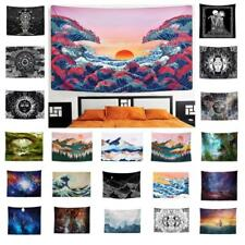 Mandala Wave Tapestry Wall Hanging Decor Cover Beach Blanket Camping Travel Mat