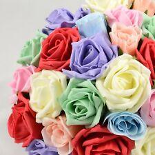 Artificial Wedding Flowers Silk Bridesmaids Bouquet Posy in 73 Colours & Designs