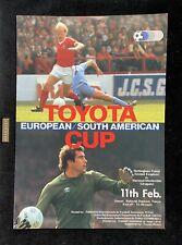 More details for 1980 nottingham forest vs nacional toyota world club final programme - very rare