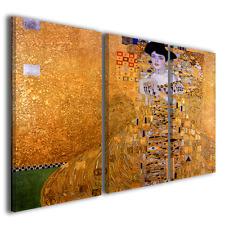 Quadri moderni Gustav Klimt II stampe su tela canvas riproduzioni ® quality