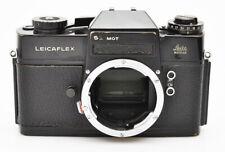 "Leitz, body of Leicaflex SL Mot Black Paint, it ""works"" but sold as is"
