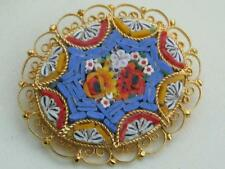 Gold Plated Glass Vintage Costume Jewellery (1970s)