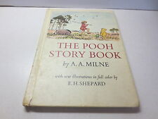 The Pooh Story Book by A.A. Milne vintage 1965 E.P. Dutton hardcover