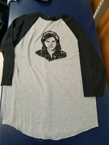Uncle Jesse Raglan T Shirt 3/4 Length Size Large Full House Have Mercy