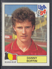Panini - USA 94 World Cup - # 366 Danny Boffin - Belgique (Green Back)