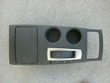 2013 NISSAN ALTIMA SEDAN OEM CONSOLE FLAT BLACK FINISH PANEL w/o USB 96941