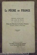 LA PÊCHE EN FRANCE 1925