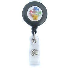 AUTISM AWARENESS ID Badge/Key Ring Holder