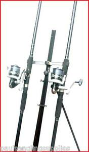 2 x 12 ft NGT Rods & SX 70  Reels & Tripod Beachcaster Sea Fishing