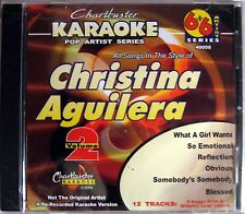 Chartbuster Karaoke Pop Artist Series - CB40058 CDG    (Christina Aguilera)