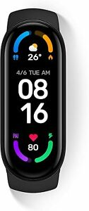 Xiaomi Mi Smart Band 6 Orologio Smart Schermo AMOLED 1.56'' NERO