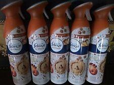 5 FEBREZE APPLE DELISH Air Effects Room Sprays 9.7 Oz. each Spray Can