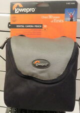 LOWEPRO D RES 30 AW DIGITAL CAMERA POUCH BAG Black Gray 6x2.5x6 NEW with Tag!