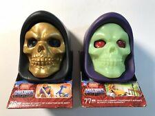 Mega Construx Skeletor skull motu He-man and fisto