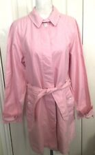 BNWT Ralph Lauren Women Pink Belt Trench Coat Size M RRP £225