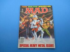 Vintage MAD Magazine July 1989 Comics #288 Special Heavy Metal Issue 48pgs M1058