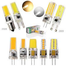AU 3W 4W 6W 8W G9 G4 E14 Bright Silicone Crystal SMD/COB LED Bulb SpotLight Lamp