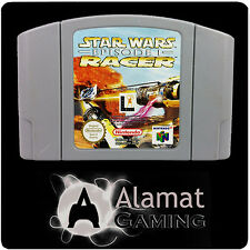 Star Wars Episode I Racer (N64) Nintendo - Cart Only - VGC - Fast Post - PAL