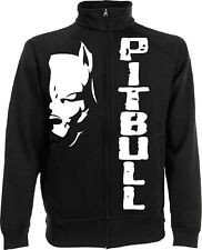 Sweatshirt Jacket Pitbull Fight Dog Kick Boxing Jacket Gift Idea