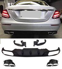 Für Mercedes-Benz E-Klasse W213 E63 AMG Look Heckschürze Sto�Ÿstange Diffusor *20