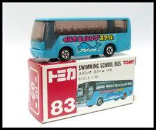 TOMICA 83 SWIMMING SCHOOL BUS Isuzu Super HI-DECKER BUS TOMY 1/145 DIECAST CAR