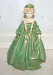 Grandmother's Dress - Royal Worcester - No 3081 F G Doughty. Rare Green.