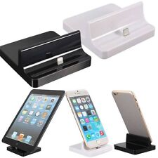 Sync Dock Cargador Asiento Soporte Cuna Escritorio Station Para Iphone 6s / + 5s/c Ipad Mini