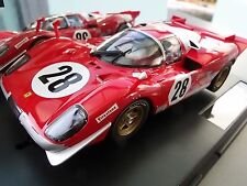 "Carrera Digital 124 23788 FERRARI 512S BERLINETTA DAYTONA 24H ""NO.28"",1970 NEU"