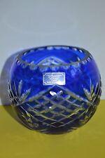 Crystal Legends by Godinger Cobalt Blue Bowl
