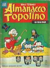 ALMANACCO TOPOLINO 1964 NUMERO 6 + BOLLINO