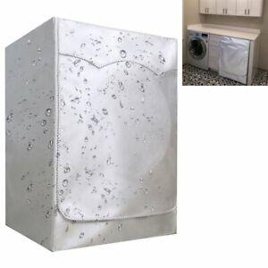 Waschmaschinen-Abdeckhaube 60*60*85cm Waschmaschinenbezug Abdeckung Trockner