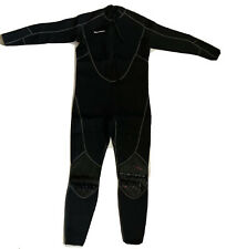 SeaSkin Men's Full Wetsuit With Front Zipper - Black - 2XL