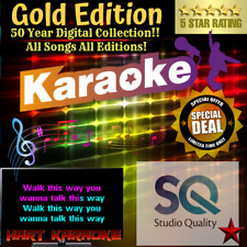 Gold Karaoke Collection - Every Song Ever! - Studio Quality Usb Hard Drive