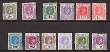 Mint Hinged Multiple Mauritian Stamps