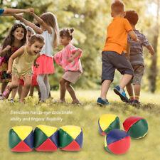 3Pcs/Set Juggling Ball Classic Bean Bag Circus Beginner Baby Kids Playing Toy SP