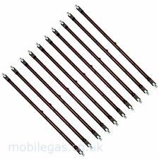 10 x 348mm 110V 1400 Watt 1.4 Kw R7 Rubin Halogen Ir Infrarot Heizung Lampe Bulb