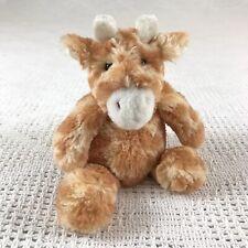 manhattan toy company mini giraffe plush 8in soft fuzzy lovie