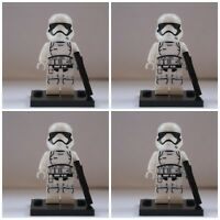 Star Wars First Order Storm Clone Troopers Mini Figures use with lego Jedi