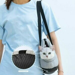 Portable Pet Cat Backpack Bag Breathable Cat Bag Pet Transport Carrying Handbag