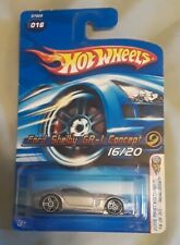 Ford Shelby GR-1 Concept Silver 2005 First Editions Chrome PR5 Hot Wheels 16/20