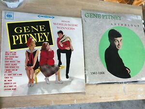 2 x Gene Pitney 2Lp - Anthology 1961-1968,& World-wide Winners vinyl records