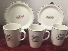 Tim Hortons Restaurant Ware 2 Plates 3 Mugs Steelite England Coffee Mug