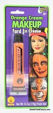 ORANGE Cream Makeup Face Halloween Tube Pretend Costume Dress Stage FREE SHIPPIN
